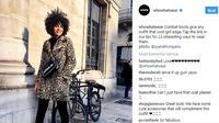 Ingin tampil keren dan tidak norak dengan jaket bermotif leopard? Intip tips fashion berikut ini. (Foto: instagram.com/@whowhatwear)
