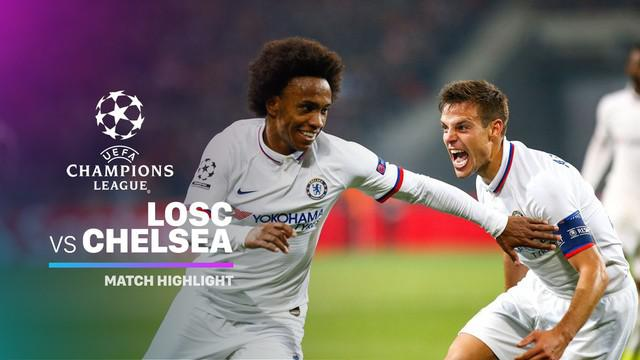 Video Highlights Liga Champions Lille Vs Chelsea   Dunia