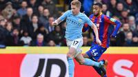 Gelandang Manchester City, Kevin De Bruyne. (AFP/Glyn Kirk)
