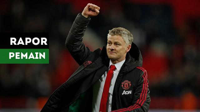 Berita video rapor para pemain Manchester United setelah mengalahkan Tottenham Hotspur menurut Whoscored.com
