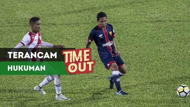 Berita video Time Out kali ini tentang klub Evan Dimas di Liga Malaysia, Selangor FA, terancam kena hukuman.