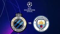 Liga Champions - Club Brugge Vs Manchester City (Bola.com/Adreanus Titus)