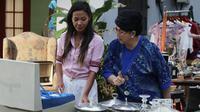 Shanty saat beradu akting dengan artis senior Titiek Puspa dalam Ini Kisah Tiga Dara (Liputan6.com/Ini Kisah Tiga Dara)