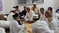 KH Maruf Amin bertemu Fadli Zon dan Fahri Hamzah di Mekah (dok. Tim Ma'ruf Amin)