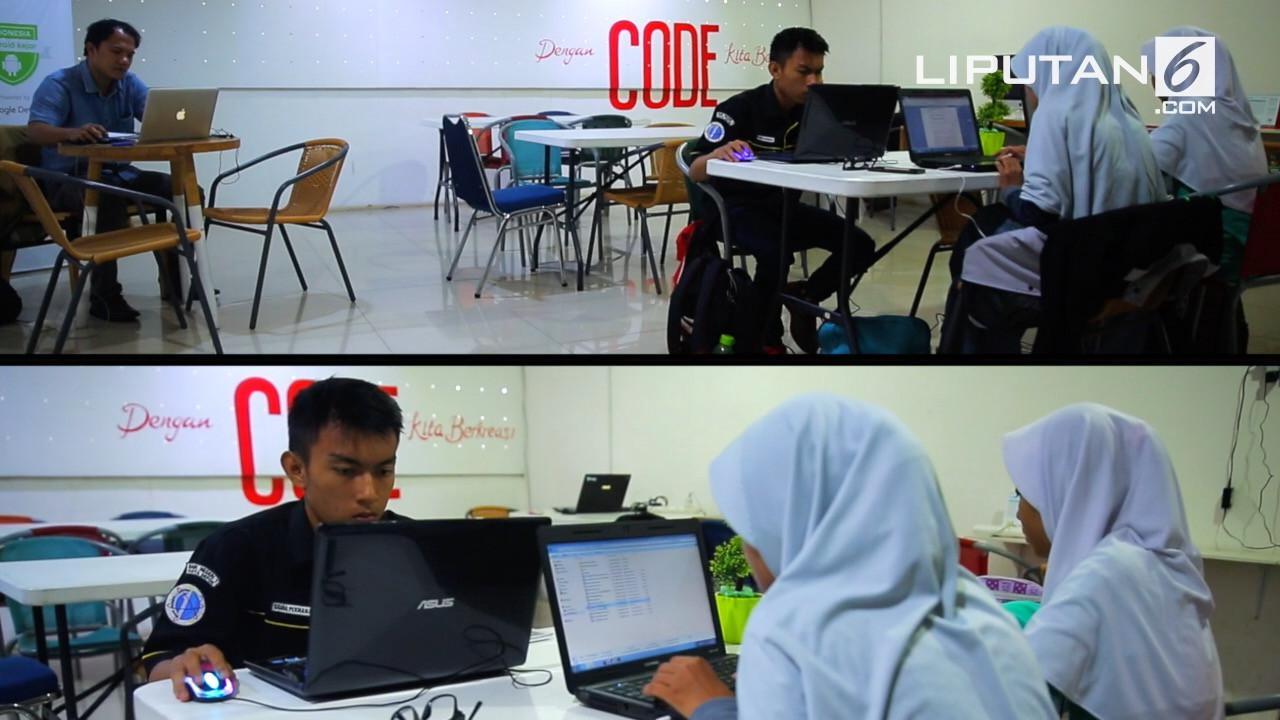 Code Margonda, pusat kegiatan para praktisi digital dan komunitas online di Depok, Jawa Barat. (Liputan6.com)