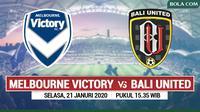 AFC Champions League - Melbourne Victory Vs Bali United (Bola.com/Adreanus Titus)
