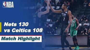 Berita video highlights NBA playoffs, pertandingan atara Brooklyn Nets melawan Boston Celtics, Rabu (26/5/2021) WIB.