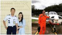 Potret Pacar Meldi Ponakan Dewi Persik, Sosoknya Calon Seorang Pilot (sumber:Instagram/rosameldianti_ dan inggils_)