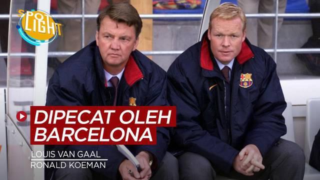 Berita video spotlight tentang pelatih top yang dipecat oleh Barcelona, selanjutnya giliran Ronald Koeman?