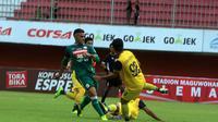 Laga PSS vs Persegres Gresik di Stadion Maguwoharjo, Sleman, Selasa (4/9/2018). (Bola.com/Ronald Seger Prabowo)