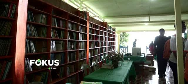 Saudara kembar di Kepulauan Anambas, Kepulauan Riau, membangun taman baca untuk siswa putus sekolah di daerah terpencil.