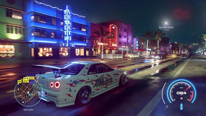Need for Speed Heat. (Doc: Electronics Arts)