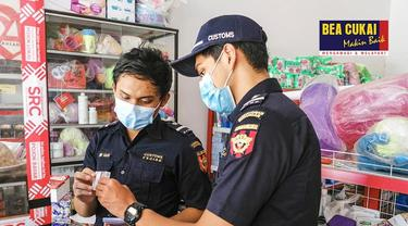 Jalankan Fungsi Pengawasan, Bea Cukai Operasi Pasar HTP Produk Hasil Tembakau