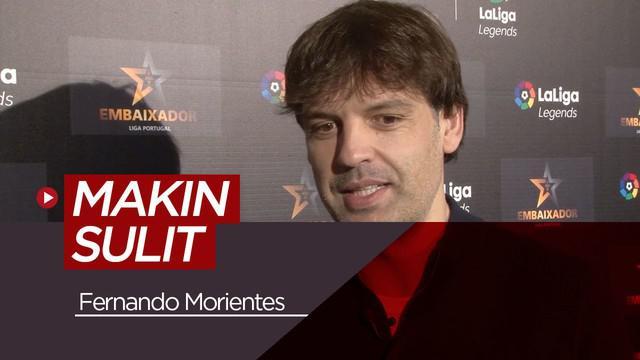 Berita video tentang Fernando Morientes yang menganggap El Clasico semakin sulit untuk Real Madrid karena ada Lionel Messi di Barcelona.