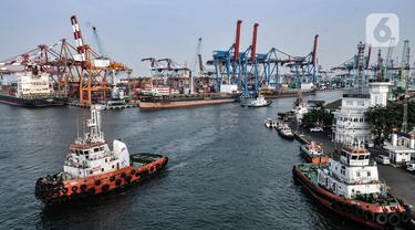 FOTO: Ekspor Impor Indonesia Merosot Akibat Pandemi COVID-19