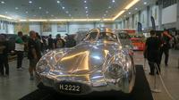 Porsche 64 Berlin Rome 1939 menjadi kendaraan langka di dunia karena hanya diproduksi tiga unit dan terhenti saat Perang Dunia II (Liputan6.com/ Switzy Sabandar)