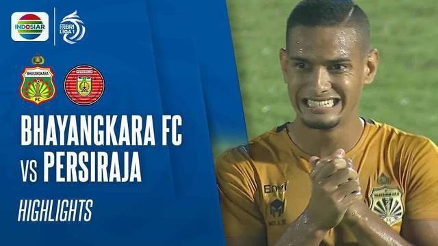 Berita Video, Bhayangkara FC Raih Kemenangan atas Persiraja Banda Aceh di laga BRI Liga 1 2021/2022
