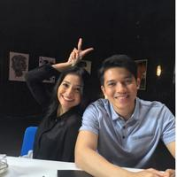 Acha Septriasa dan Irwansyah. foto: Instagram