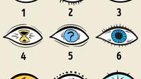 (Foto: © Brightside) Pilih satu di antara empat sembilan mata ini untuk ungkap kepribadianmu.