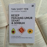 Buku Resep Panjang Umur Sehat dan Sembuh./Copyright Endah