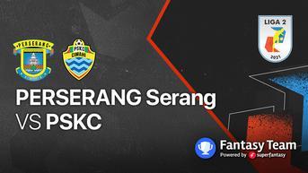 Tanding di Vidio, Live Streaming Liga 2 2021 Senin, 27 September 2021 : Perserang Serang vs PSKC Cimahi