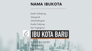 Senin 26 Agustus 2019, teka-teki di mana lokasi Ibu Kota baru Republik Indonesia akhirnya terjawab. Presiden Jokowi mengumumkan, Kalimantan Timur sebagai jawaban atas pertanyaan tersebut.