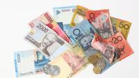 Jenis uang kertas (Sumber: Istockphoto)