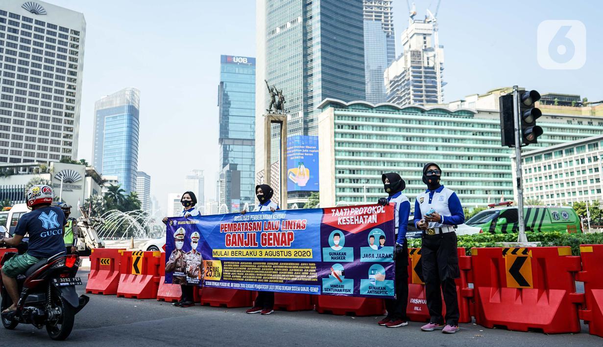 FOTO: Siap-Siap, Ganjil Genap Jakarta Kembali Berlaku ...