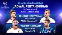 Saksikan Live Streaming Liga Champions Leg Kedua Babak 16 Besar Hanya di Vidio! sumberfoto: Vidio