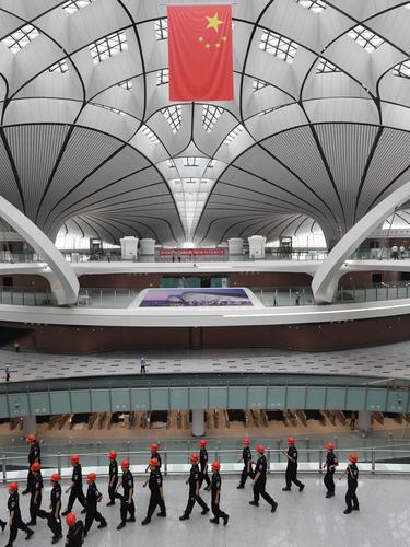 Kemegahan Bandara Internasional Daxing Beijing