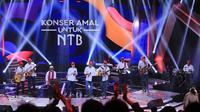 Konser Amal Untuk Lombok (Adrian Putra/bintang.com)