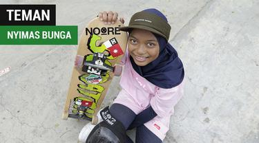 Berita video mengenal atlet skateboard, Nyimas Bunga Cinta, peraih medali Asian Games 2018 termuda asal Indonesia.
