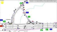 Rekayasa arus lalu lintas terkait pembangunan Tol Depok-Antasari. (@DKIJakarta)