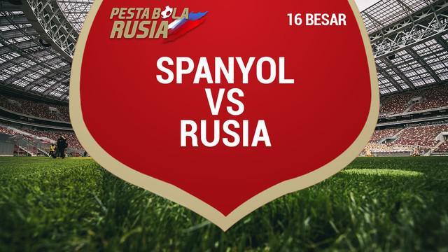 Berita video torehan data dan statistik Rusia saat secara dramatis menyingkirkan Spanyol di Piala Dunia 2018.
