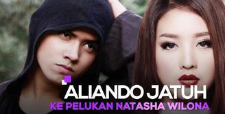 Aliando Jatuh ke Pelukan Natasha Wilona