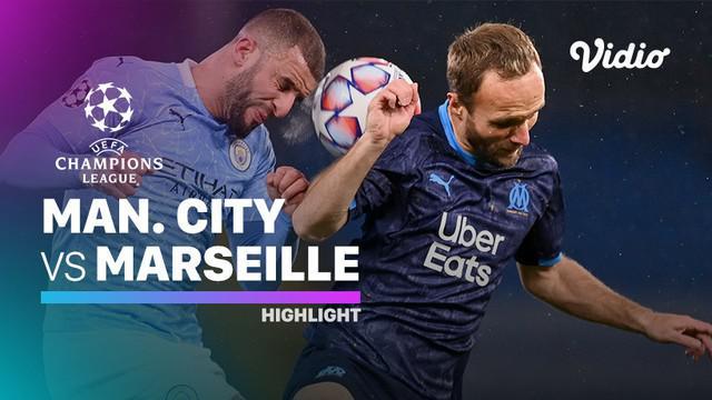 Berita video, Manchester City raih kemenangan atas Marseille di laga terakhir babak penyisihan grup Liga Champions 2020/2021