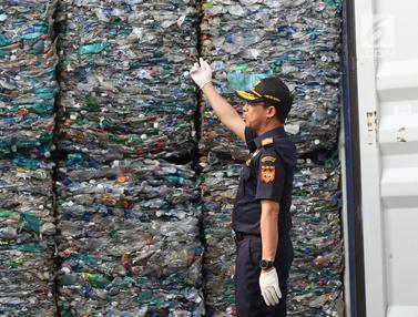 Bea Cukai Kirim Balik 135 Ton Sampah Plastik ke Australia