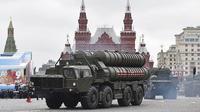 Sistem pertahanan misil Rusia dipamerkan di Moskow (AFP/Natalia Kolesnikova)