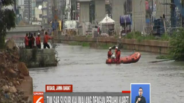 Bocah lelaki yang hendak mandi dan berenang di Kalimalang, Jakarta Timur, tewas tenggelam.