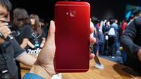 Cover belakang Asus Zenfone 4 Selfie Pro. Liputan6.com/Agustin Setyo Wardani