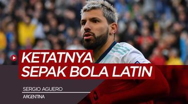 Berita video wawancara Sergio Aguero mengenai ketatnya kompetisi Liga Inggris dan Amerika Latin