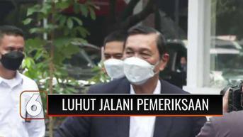 VIDEO: Luhut Jalani Pemeriksaan Perdana Sebagai Pelapor Terkait Kasus Dugaan Fitnah dan Hoaks