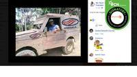 Mobil Esemka Editan. (Facebook)