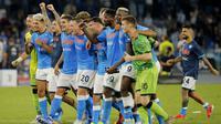 Juventus terpuruk di posisi 16 klasemen dengan torehan hanya satu poin. Sementara Napoli punya nilai sempurna dari tiga laga yaitu sembilan dan sedang memimpin klasemen. (Foto:AFP/Calro Hermann)