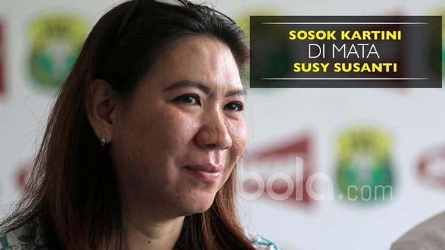 Berita video wawancara dengan salah satu legenda bulu tangkis Indonesia, Susy Susanti, mengenai pandangannya terhadap sosok Kartini. Susy Susanti juga memberikan 3 kata yang cocok untuk Kartini. Apa saja itu?