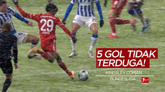 Berita Video Termasuk Gol Kingsley Coman, Berikut 5 Gol Tak Terduga di Bundesliga Pekan 20