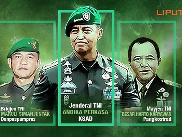 Komandan Komandan Baru Tni Ad News Liputan6 Com