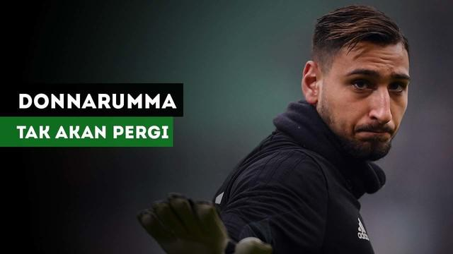 Massimiliano Mirabelli menegaskan Gianluigi Donnarumma akan tetap di AC Milan.