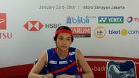 Tai Tzu Ying menjuarai Indonesia Masters 2018 setelah mengatasi perlawanan Saina Nehwal. (Bola.com/Budi Prasetyo Harsono)