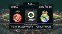 La Liga 2018-2019 Girona Vs Real Madrid (Bola.com/Adreanus Titus)